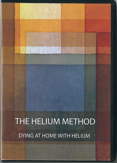 Front cover of The Helium Method: dying at home with helium