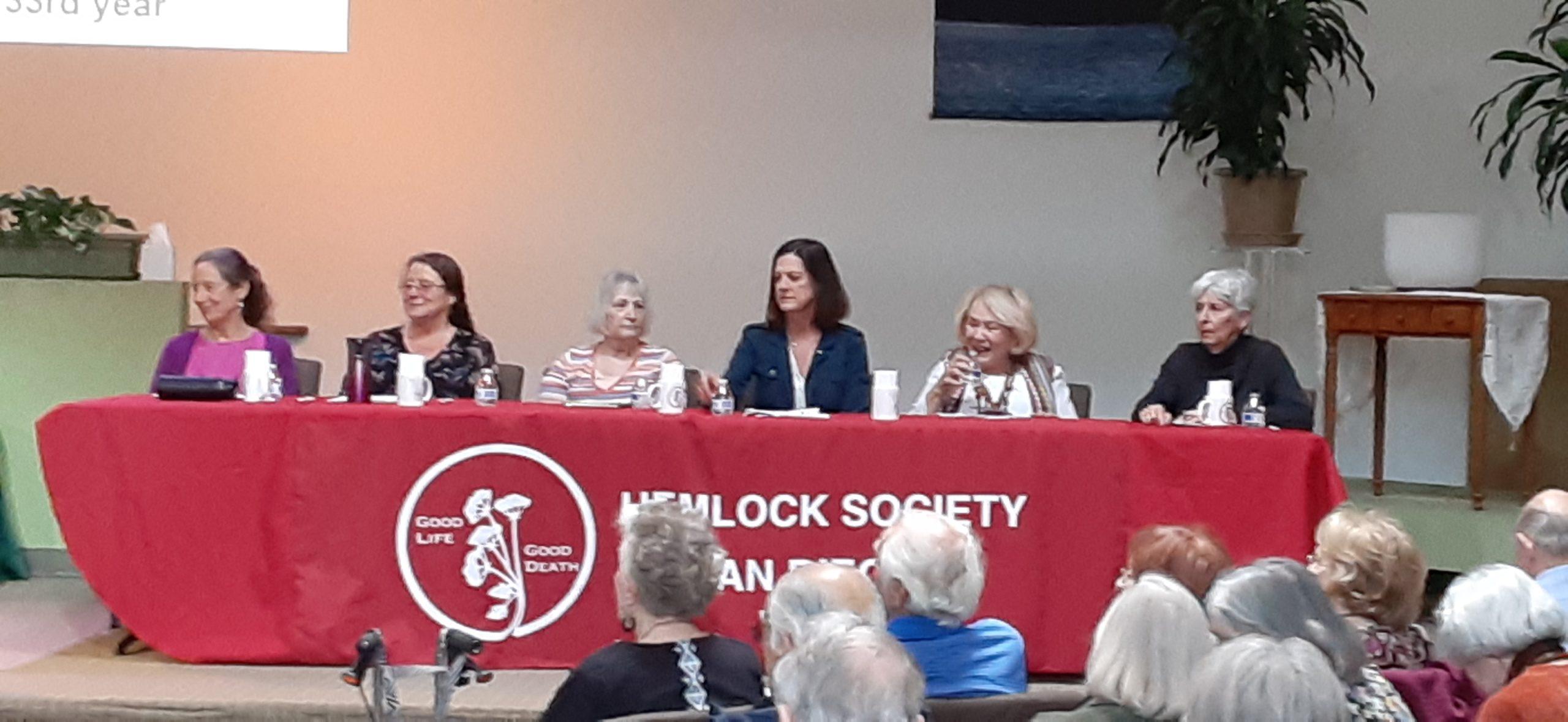 Speaker Panel Hemlock Society Of San Diego Jan. 19, 2020